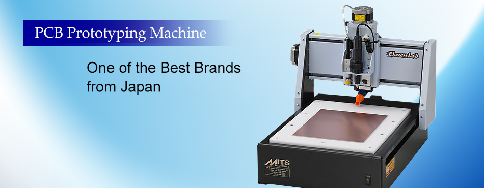 pcb prototyping machine one of the best brands from japan